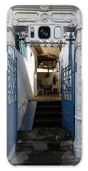 Galaxy Case - Tel Aviv Doorway by Steven Richman