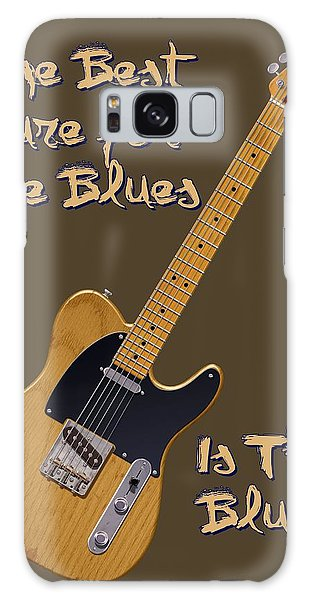 Tele Blues Cure Galaxy Case by WB Johnston