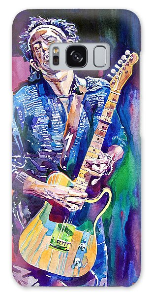 Music Galaxy Case - Telecaster- Keith Richards by David Lloyd Glover