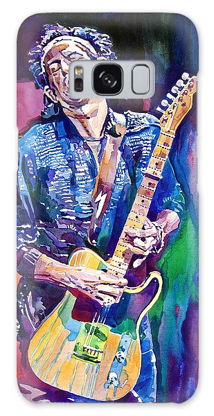 Guitar Galaxy Case - Telecaster- Keith Richards by David Lloyd Glover