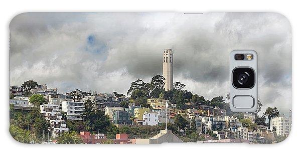 Telegraph Hill Neighborhood Homes In San Francisco Galaxy Case