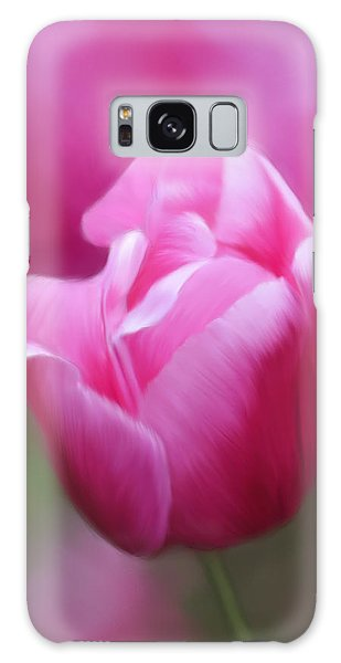 Tell Your Heart To Beat Again - Flower Art Galaxy Case