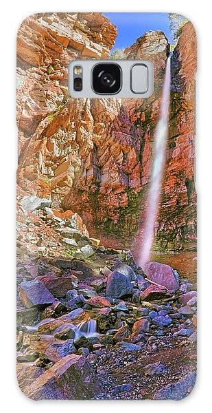 Galaxy Case featuring the photograph Telluride, Colorado's Cornet Falls - Colorful Colorado - Waterfall by Jason Politte
