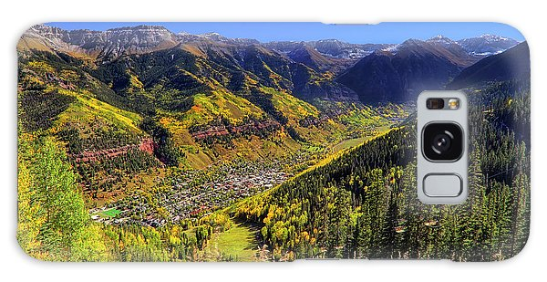 Galaxy Case featuring the photograph Telluride In Autumn - Colorful Colorado - Landscape by Jason Politte