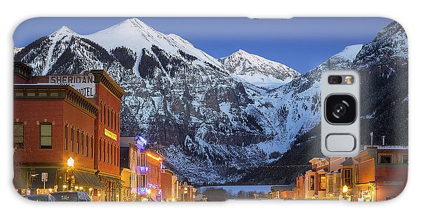 Telluride Main Street 3 Galaxy Case