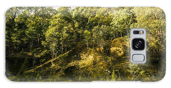 Ecosystem Galaxy Case - Temperate Rainforest Scene by Jorgo Photography - Wall Art Gallery