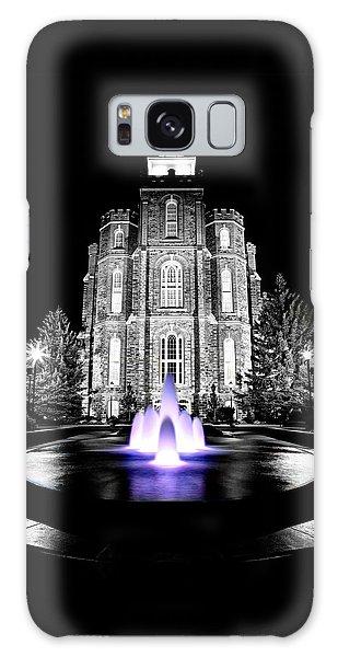 Temple Fountain  Galaxy Case