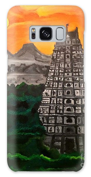 Temple Near The Hills Galaxy Case