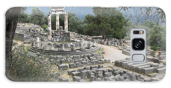 Temple Of Athena At Delphi Galaxy Case