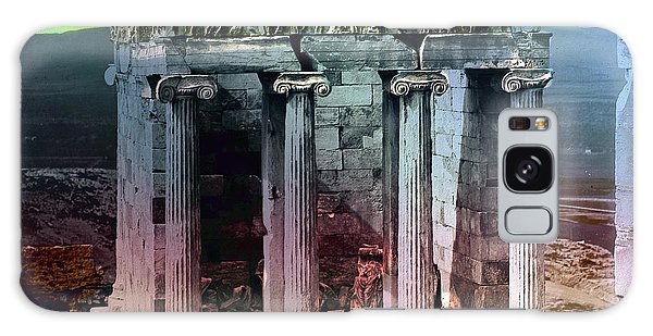 Galaxy Case featuring the photograph Temple Of Athena by Robert G Kernodle