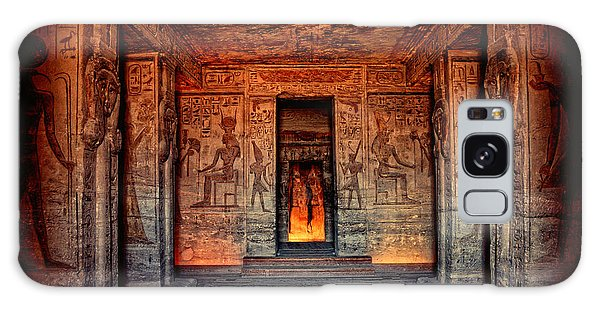 Temple Of Hathor And Nefertari Abu Simbel Galaxy Case