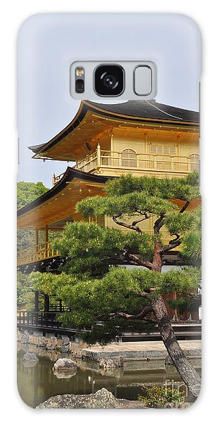 Temple Of The Golden Pavilion Galaxy Case