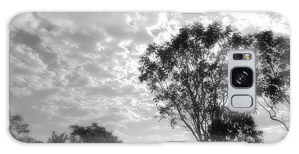 Temporary Clouds Galaxy Case by Beto Machado