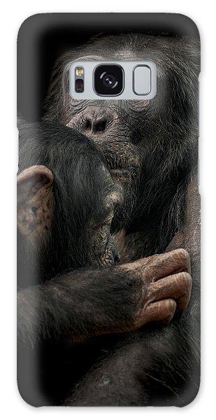 Chimpanzee Galaxy S8 Case - Tenderness by Paul Neville