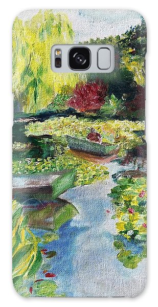Tending The Pond Galaxy Case