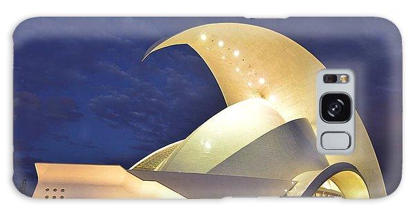 Tenerife Auditorium At Night Galaxy Case by Marek Stepan