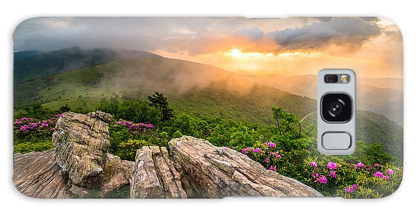 Tennessee Appalachian Mountains Sunset Scenic Landscape Photography Galaxy Case