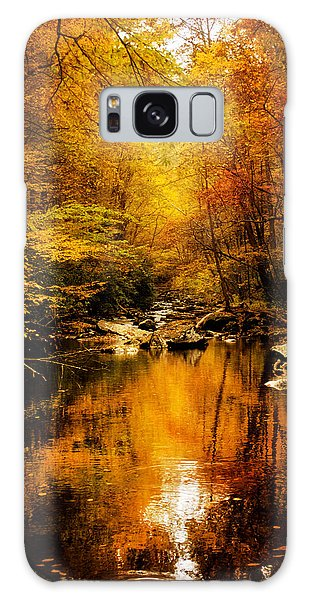 Tennessee Mountains Autumn Galaxy Case