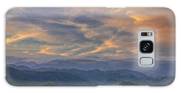 Tennessee Mountains Sunset Galaxy Case