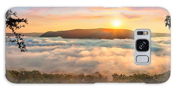 Tennessee River Gorge Morning Fog Galaxy Case