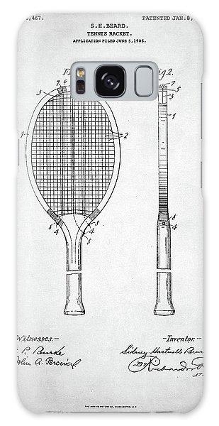 Tennis Racket Patent 1907 Galaxy Case