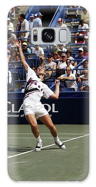 Tennis Serve Galaxy Case