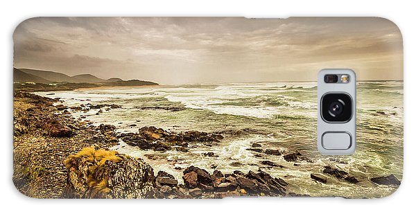West Bay Galaxy Case - Tense Seas by Jorgo Photography - Wall Art Gallery