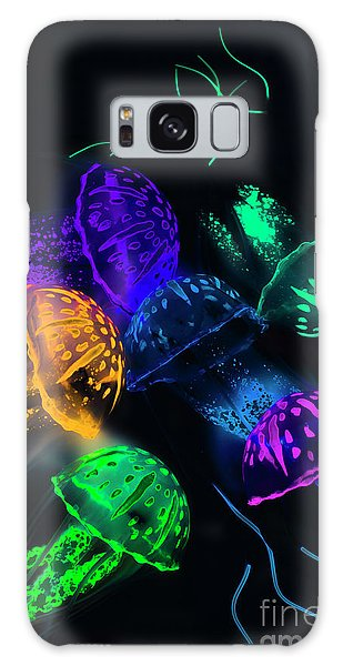 Neon Galaxy Case - Tentacle Dance  by Jorgo Photography - Wall Art Gallery