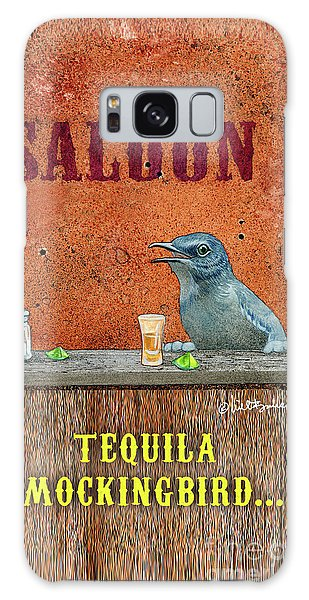Tequila Mockingbird... Galaxy Case