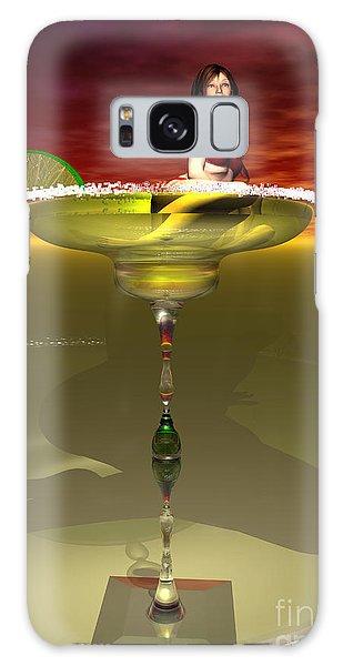 Tequila Sunrise Galaxy Case