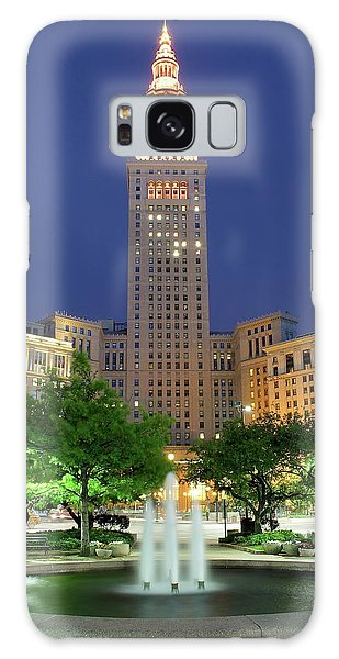 Terminal Tower Galaxy Case by Frozen in Time Fine Art Photography