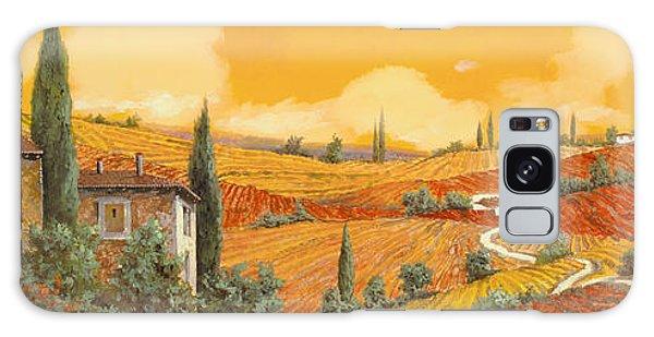 Sunflower Galaxy S8 Case - terra di Siena by Guido Borelli