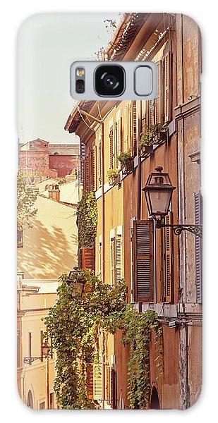 Terracotta - Rome Italy Travel Photography Galaxy Case by Melanie Alexandra Price