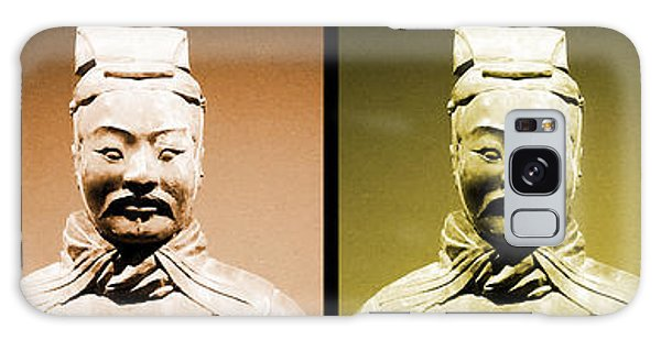 Terracotta Warrior Army Of Qin Shi Huang Di - Royg Galaxy Case