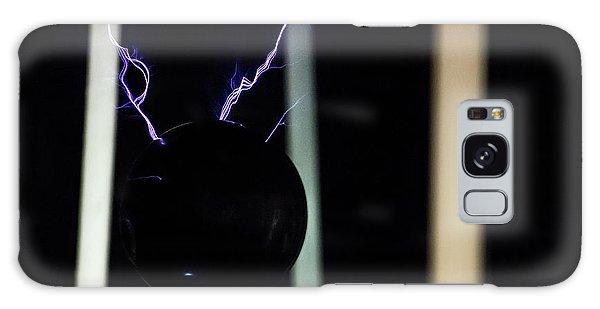 Tesla Coil 5 Galaxy Case