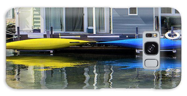 Marina Living In Victoria British Columbia 2to1 Galaxy Case by Ben and Raisa Gertsberg