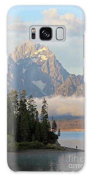 Teton Early Morning Galaxy Case