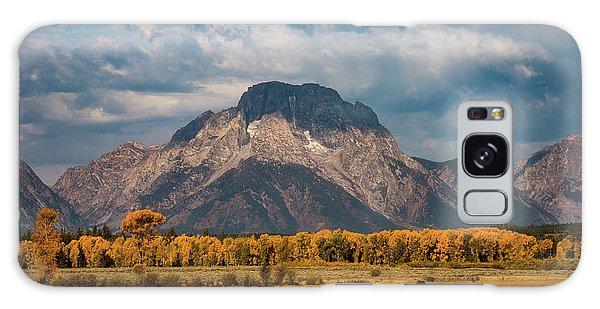 Teton Horse Ranch Galaxy Case by Darren White