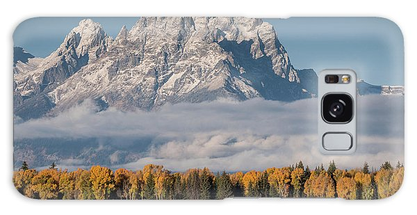 Galaxy Case featuring the photograph Teton Horses by Wesley Aston