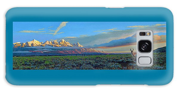 Teton Galaxy Case - Teton Morning by Paul Krapf