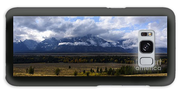 Teton Range # 1 Galaxy Case by Sandy Molinaro