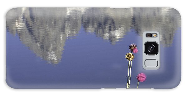Teton Reflections Galaxy Case by Elizabeth Eldridge