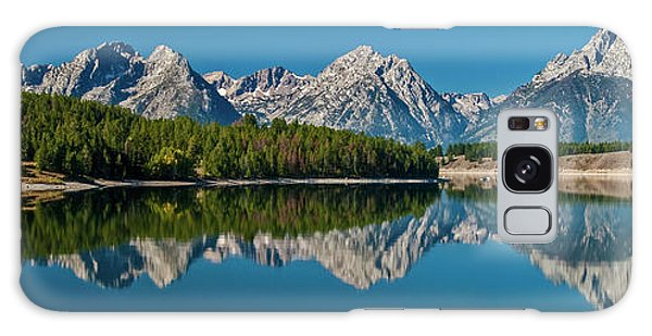 Galaxy Case featuring the photograph Teton Reflections by Gary Lengyel
