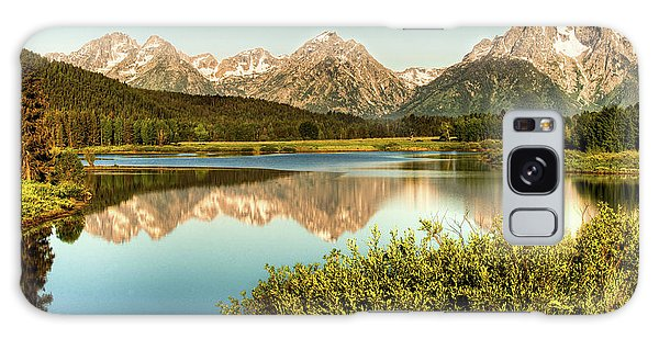 Teton Reflections Galaxy Case by Rebecca Hiatt
