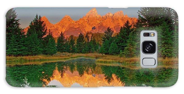 Teton Sunrise Galaxy Case