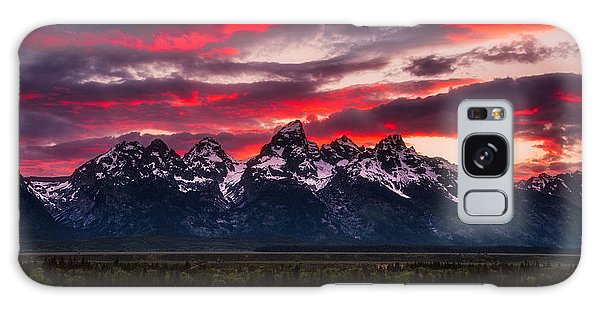 Teton Galaxy Case - Teton Sunset by Darren White