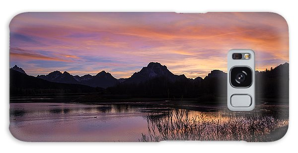 Teton Sunset Galaxy Case by Gary Lengyel