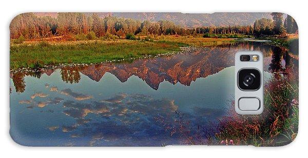 Teton Wildflowers Galaxy Case