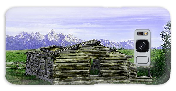 Tetons From The Shane Barn Galaxy Case
