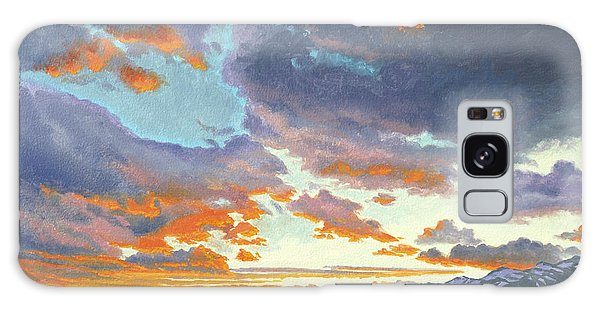 Teton Galaxy Case - Tetons-looking South At Sunset by Paul Krapf